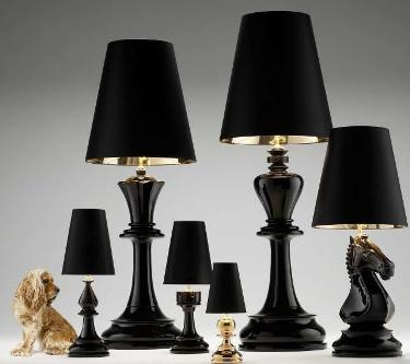 Scandal Home Couture The Chess Lamps